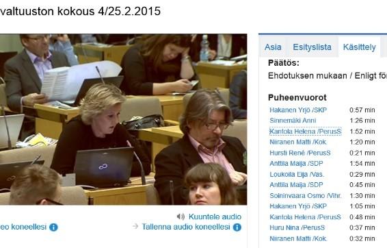 Valtuutettu Kantolan Tuomarinkylääkin koskeviin kysymyksiin ei saatu vielä vastausta, koska puheenjohtaja halusi pitää keskustelun valtuustoaloitteessa.