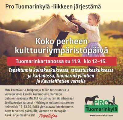 Lehdistötiedote 7.9.2016: Kaupunkilaiset tempaisevat Tuomarinkylän puolesta